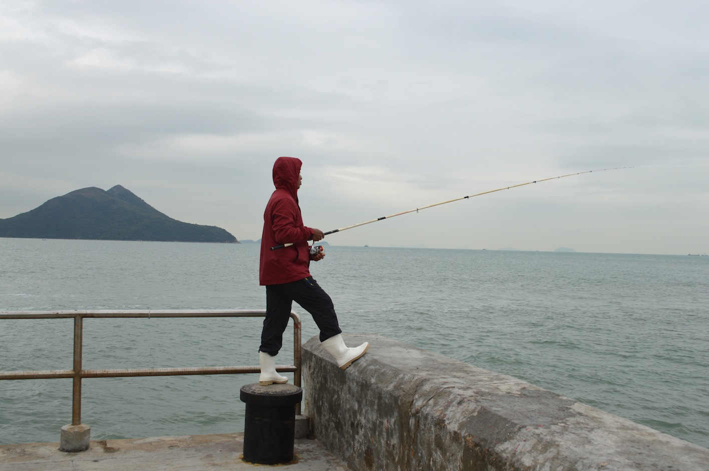 fishing in Tai O