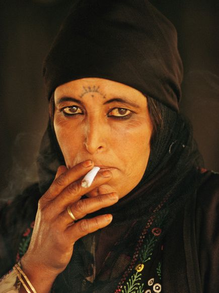 Bedouin Beautiful Woman Bedouin Woman Petra Jordan
