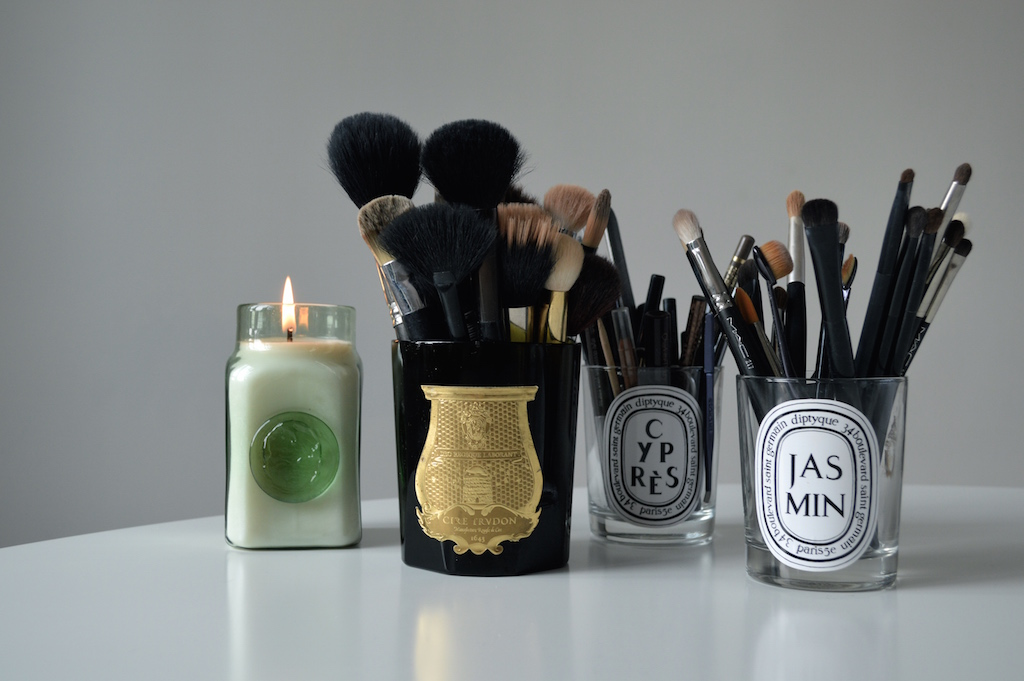 Candle Brush Holders
